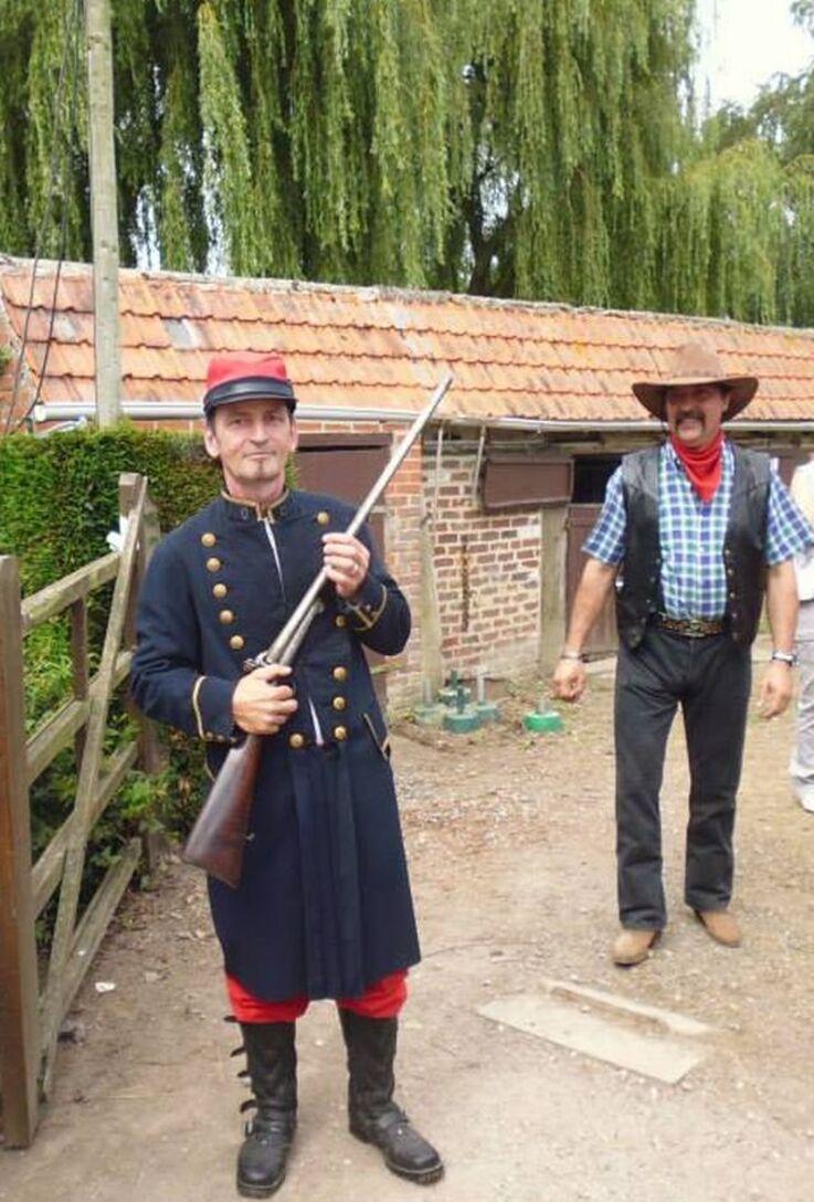 Fête à l'ancienne à Boeschèpe Nord.