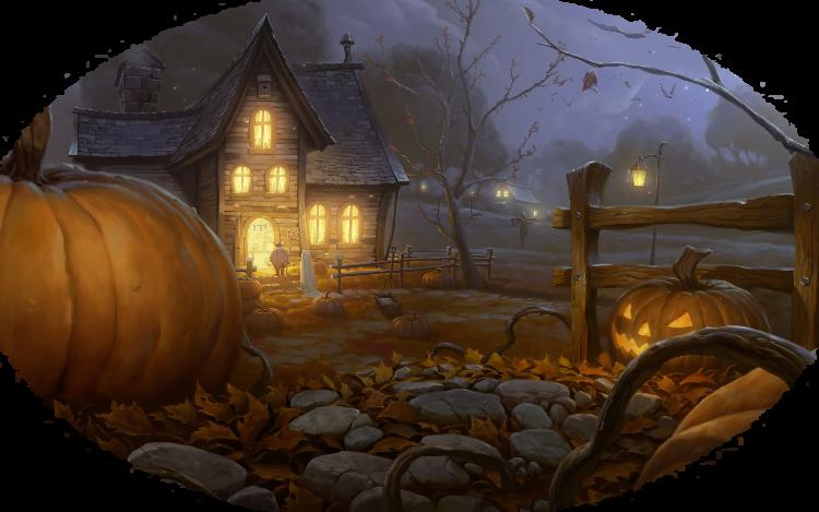 Mes Tubes Fonds Halloween Série 3