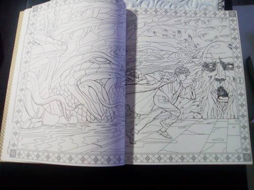 Livre coloriage Harry Potter