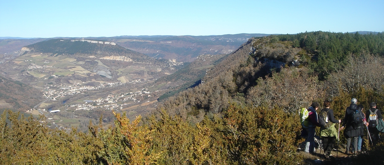 panoramique du pouzet au roc pointu