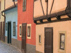 Maisons en couleurs