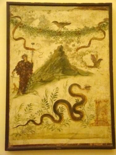 Laraire dédié à Bacchus (Maison du Centenaire)