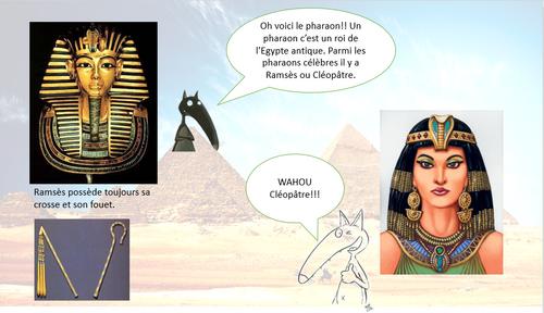 Egypte powerpoint