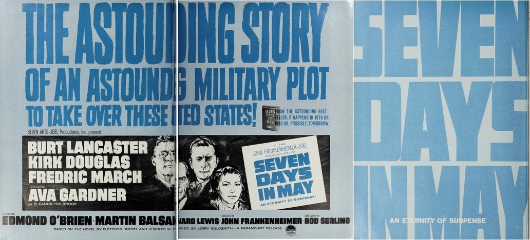 SEVEN DAYS IN MAY BOX OFFICE USA 1964