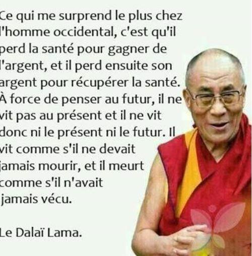 Proverbe du Dalaï Lama