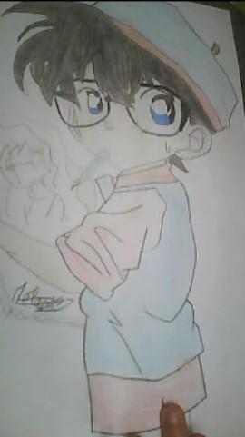 Conan futur peintre