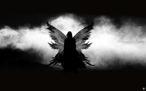 Une Chute avec les anges déchus par Andy