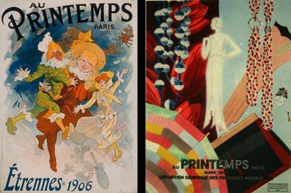 """Histoire du magasin """"Printemps Haussmann"""""""