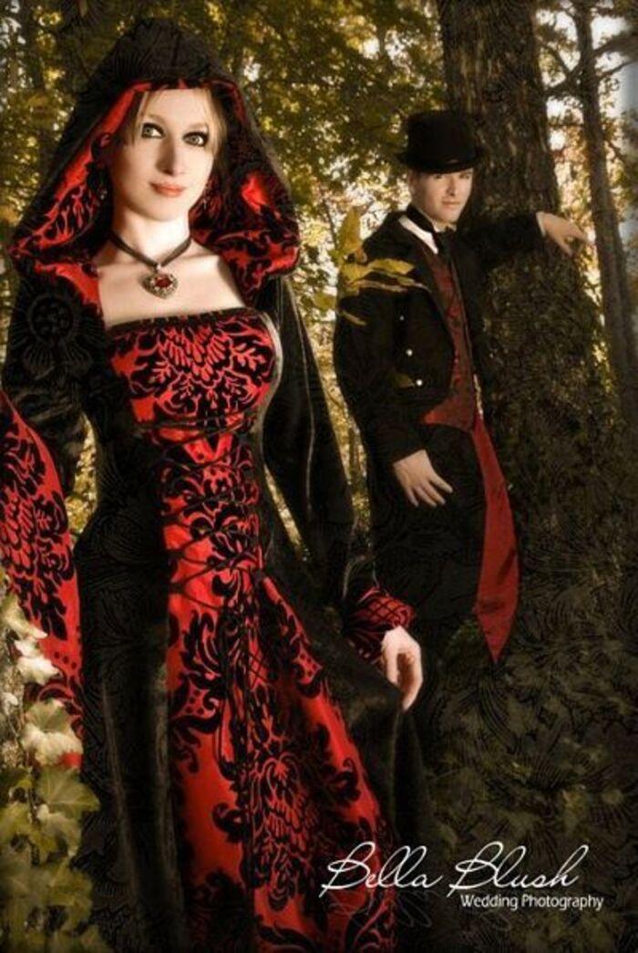 Look gothique médiéval