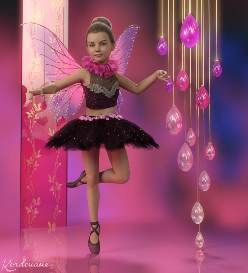 Création : Ballerine et fée à la fois (DazStudio)