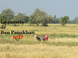 La gazette de Ban Pangkhan (27). Du 15/06 au 1/12/2014.