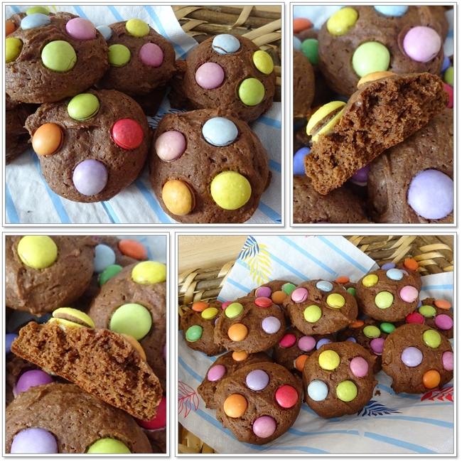 Cookies chocolat aux smarties
