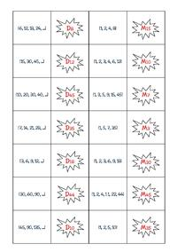 Jeux maths 7e Harmos