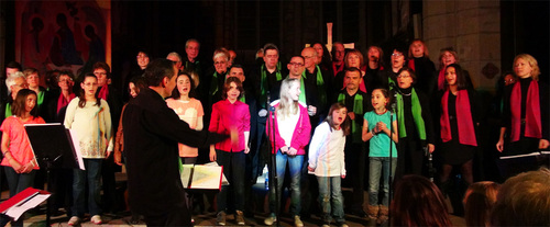 2013 05 24 Ste Sigolène - Concert à l'église