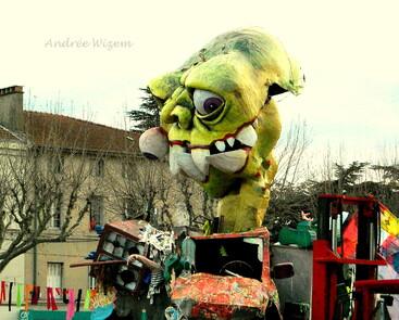Carnaval Romans sur Isère 2013...Images...Carmentran & C°...