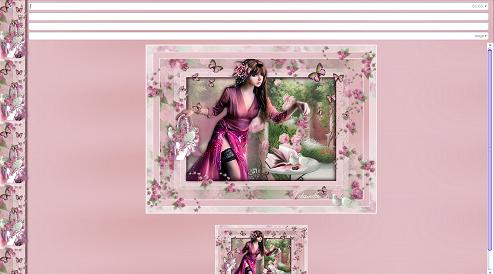 Papier Fantasy Femme 08