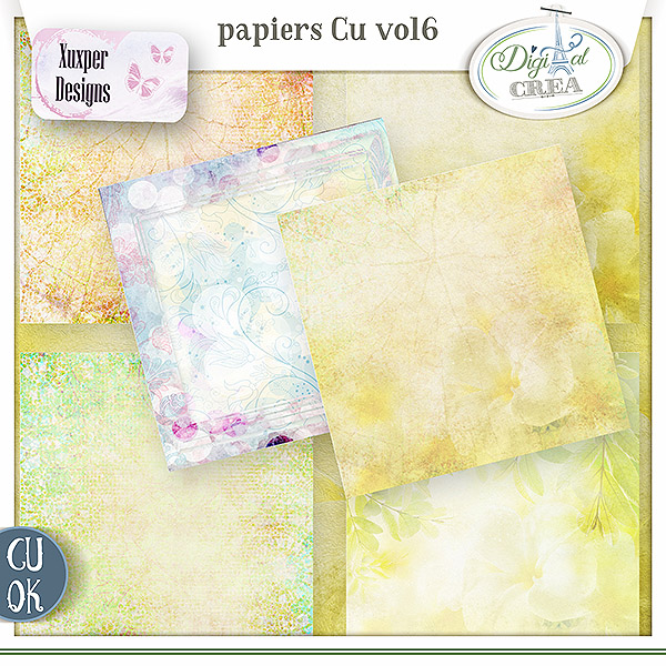 Pack Papiers Cu Vol6 de Xuxper designs