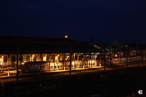 La Lune prend le train