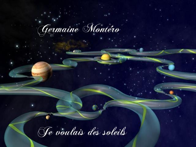 Je voulais des soleils~ Chanté par Germaine Montéro