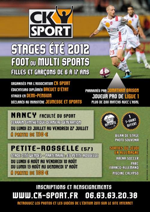 Stage CK Sport