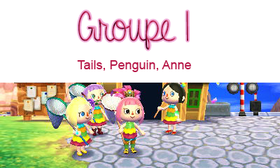 Carnaval ; Groupe 1