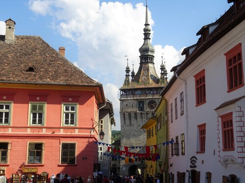 Promenade dans Sighisoara en Roumanie (photos)