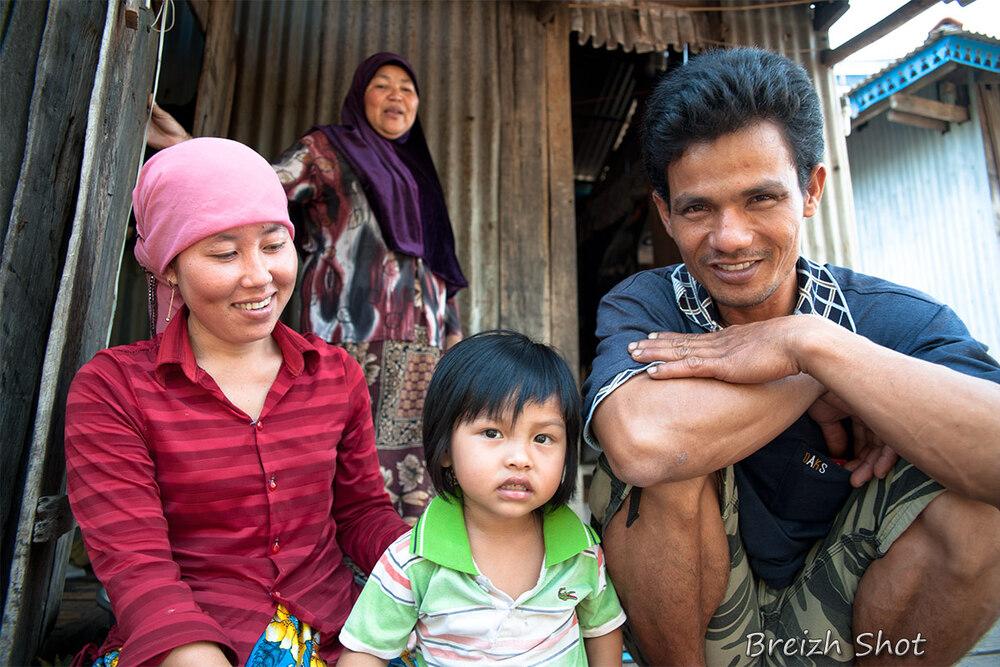 Portraits Cham - Trois générations sous le même toit