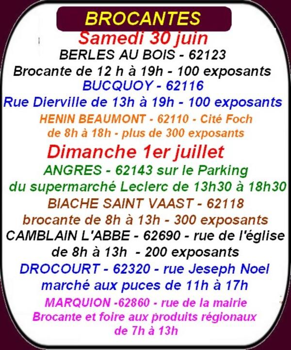Fête à l'escargot, brocante et autres loisirs ce week-end à Arras et ses environs.