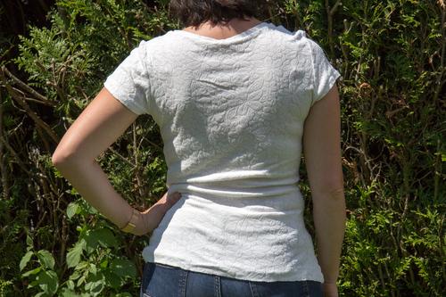 Mylène - Couture : T-shirt givre