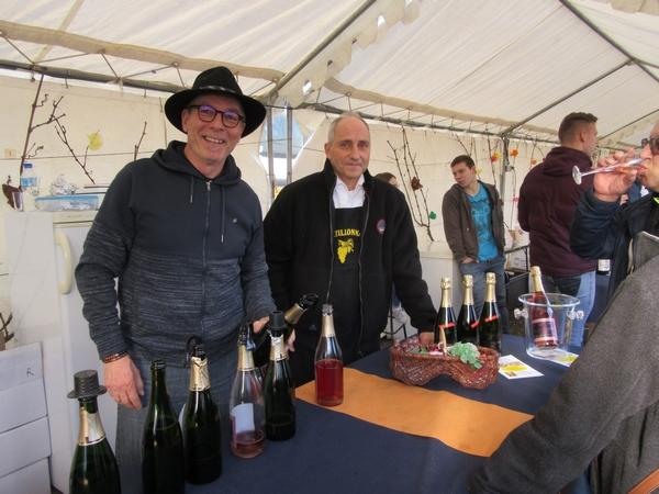 La fête du Crémant Châtillonnais 2019 a débuté avec plusieurs intronisations