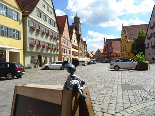 Suite de notre excursion en Bavière où Minizupette crut triompher