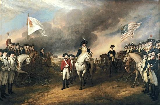 La bataille de Yorktown