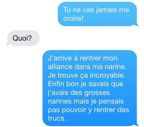 Sms de mères #17