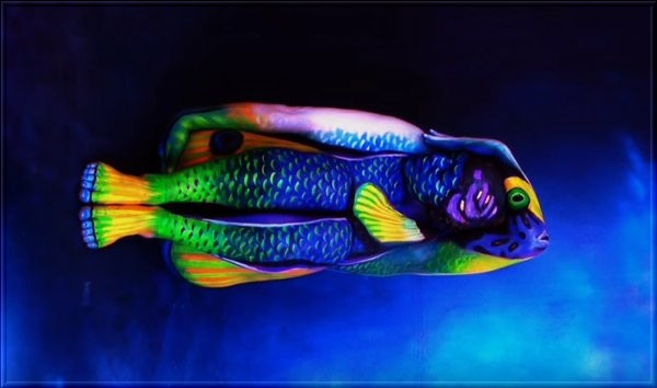 Le Body Art ou Body Painting