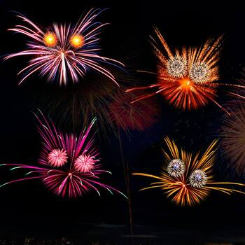 Attention aux feux d'artifice