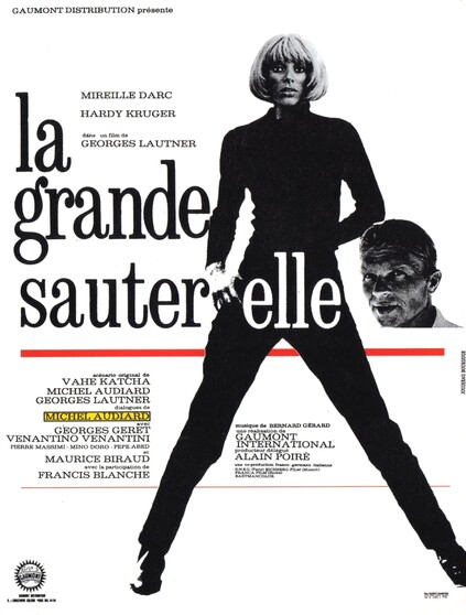 LA GRANDE SAUTERELLE - BOX OFFICE MIREILLE DARC 1967 PART I