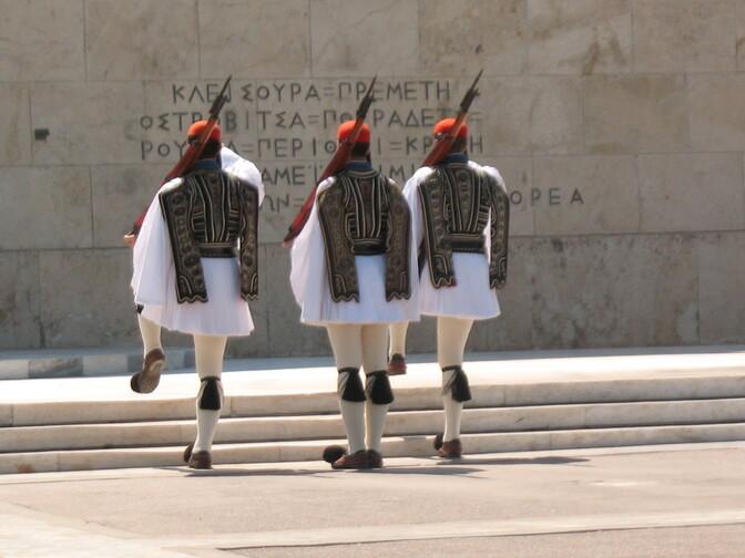 Les Evzones ... Grèce