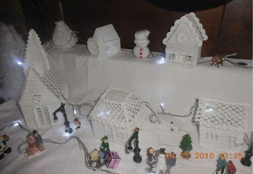 Le village blanc de Marlyse