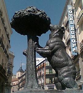 El Oso de la Puerta del Sol edited
