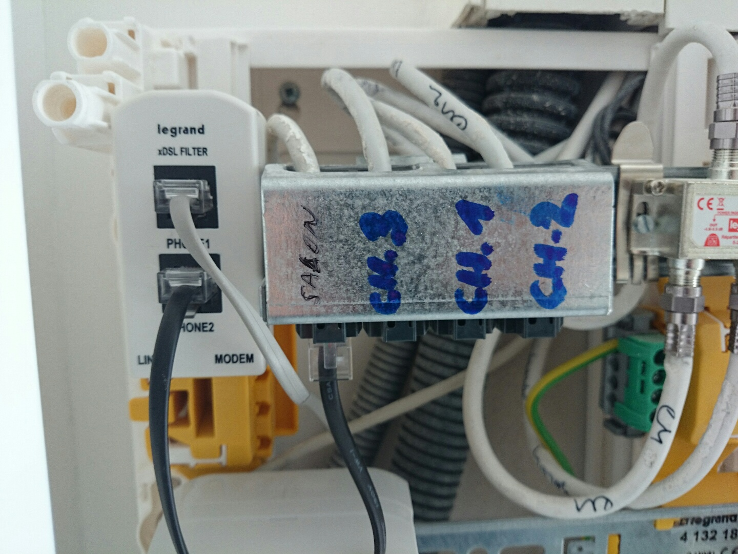Branchement adsl r sidence carr affinit bonneuil sur marne - Branchement livebox telephone ...
