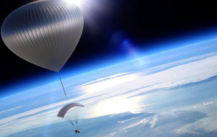 Une entreprise vous propose d'aller observer la courbure de la Terre depuis une nacelle
