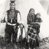 Salish family. Montana. Early 1900s. Photo by Frank H. Nowell. Source - Yale Collection of Western A