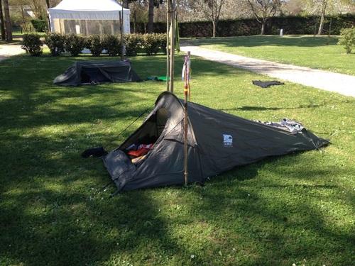 8ème jour de Bernard au camping des Ormes