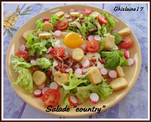"Salade ""country"""