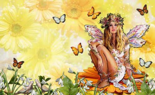Au jardin d'une fée
