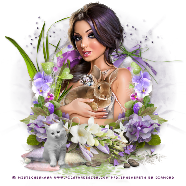 """Tutoriel """"Purple passion"""" de Lisa-creations"""