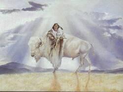 Légende de la Femme Bison Blanc