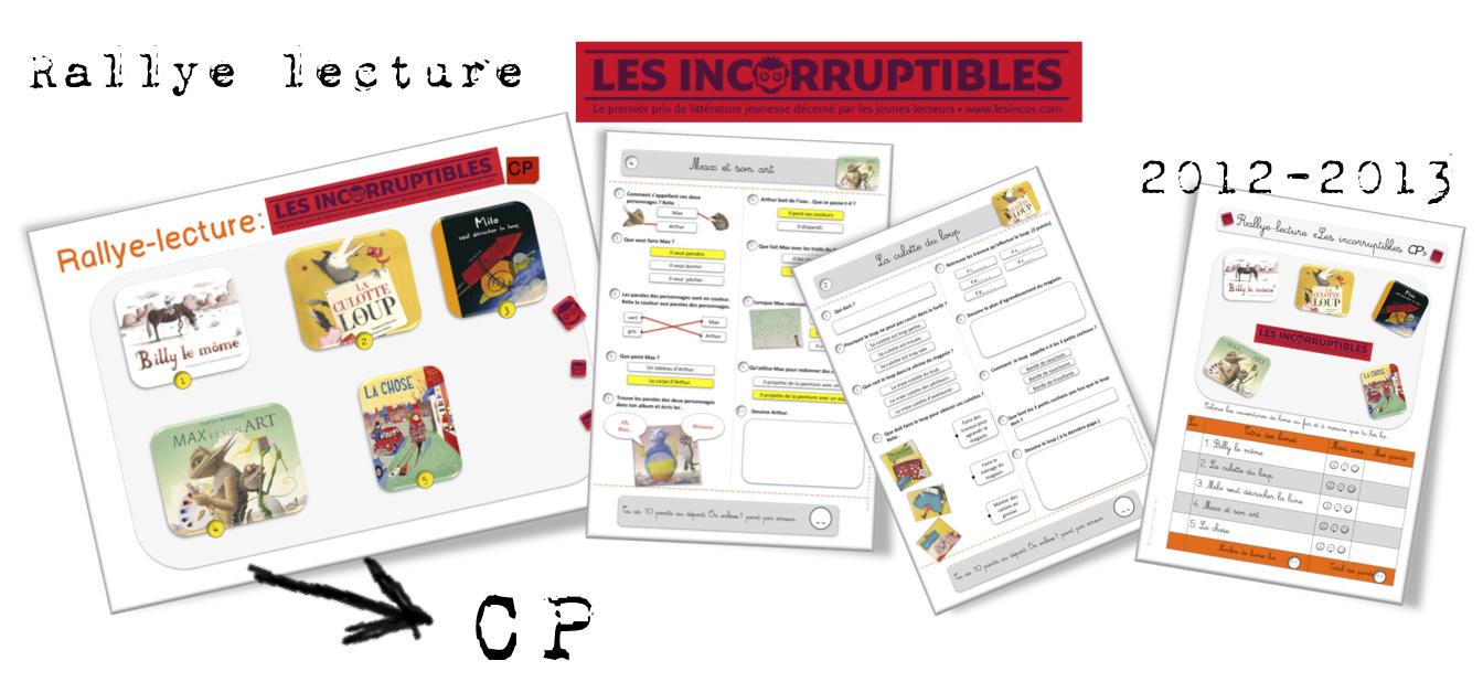 Top Rallye-lecture Les Incorruptibles CP et CE1 | Bout de Gomme MY81