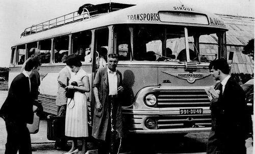 Les autocars - après guerre