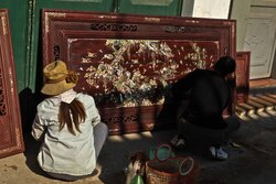 Villages d'artisans 2: La nacre de Chuyen My